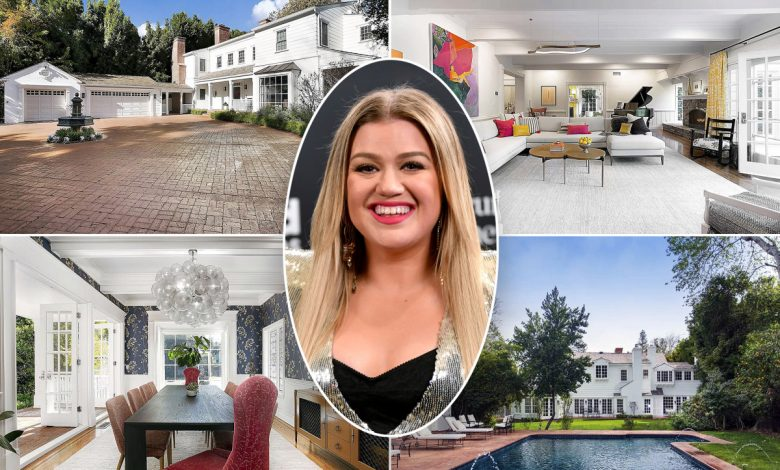 Kelly Clarkson's kids get huge playground at $5.5M post-breakup mansion