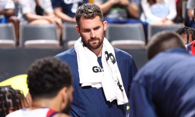 Kevin Love 'wasn't in shape' at Team USA camp: Jerry Colangelo