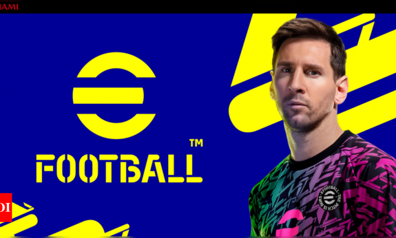 Konami's popular game PES is now eFootball - Times of India