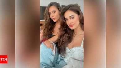 """Krishna Shroff says Tiger Shroff's rumoured girlfriend Disha Patani is """"grounded and down to earth"""" - Times of India"""