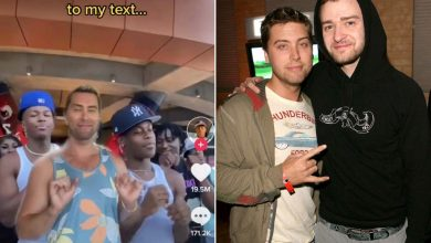 Lance Bass teases Justin Timberlake on TikTok about not texting back