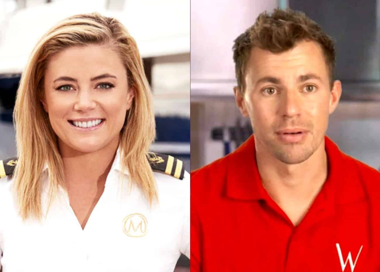 """Below Deck Med's Malia White on How She Found Out About Ex Tom Checkett's Cheating, Claims """"All Hell Broke Loose,"""" Plus Where They Stand Today"""