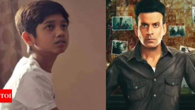 Manoj Bajpayee's son from 'The Family Man' idolizes Hrithik Roshan - Times of India