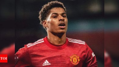 Marcus Rashford to miss start of season due to shoulder surgery | Football News - Times of India