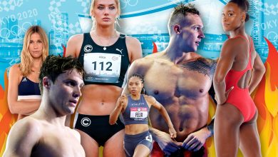 Meet the strongest and sexiest athletes at Tokyo Olympics 2021
