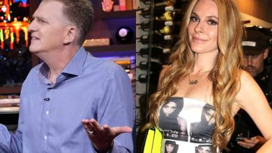 """Michael Rapaport Applauds Leah McSweeney for """"Incredible Rookie Season"""" of RHONY, Says Fans """"Fell in Love"""" and Explains """"Ebbs and Flows"""" of Show"""