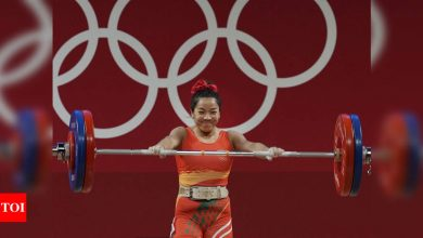 Mirabai Chanu's mother in tears as daughter sports 'good luck' earrings she gifted in Olympic super show   Tokyo Olympics News - Times of India