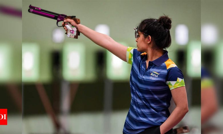 Morini's 'unconditional apology' to NRAI for Manu Bhaker's pistol malfunction comments | Tokyo Olympics News - Times of India