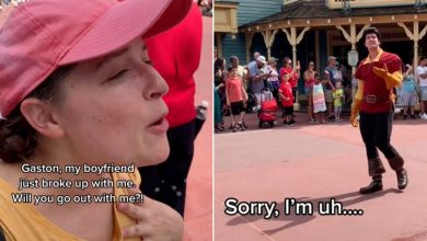 Mortified woman gets rejected by Disney villain after asking him out