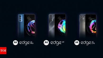 Motorola Edge 20, Motorola Edge 20 Lite and Motorola Edge 20 Pro with 108MP primary camera, 144Hz refresh rate launched globally - Times of India
