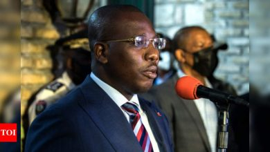 New Haiti leader with international backing to take charge - Times of India