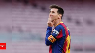 New Messi deal delayed by La Liga financial controls, says FC Barcelona president   Football News - Times of India