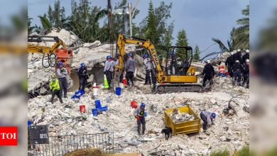 No hope: Families confront fate of Florida collapse victims - Times of India