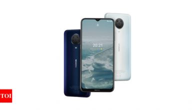 Nokia G20 Price:  Nokia G20 with 48MP quad rear camera, 5050mAh battery launched in India: Price, availability and more - Times of India