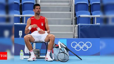 Novak Djokovic knows 'history is on the line' at Tokyo Olympics | Tokyo Olympics News - Times of India