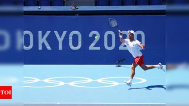 Novak Djokovic to start quest for Tokyo gold against 139th-ranked Hugo Dellien | Tokyo Olympics News - Times of India