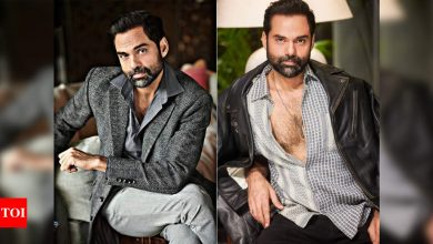 On the style radar: The brooding hot Abhay Deol - Times of India