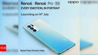 Oppo Reno 6 5G smartphone series to feature 'sparkling matte finish with glow' - Times of India