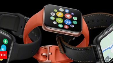 Oppo Watch 2:  Oppo Watch 2 with Snapdragon Wear 4100 chipset launched - Times of India