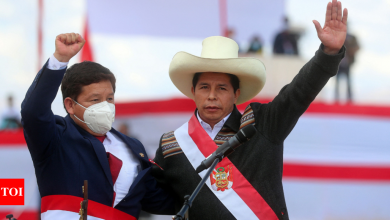 Peru's Castillo names Marxist party member as PM, likely scaring investors - Times of India