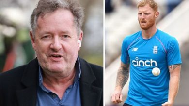 Piers Morgan angry as he reacts to Ben Stokes taking mental health break