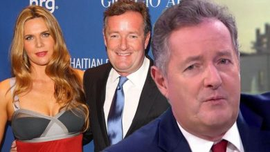 Piers Morgan says wife celebrated as he was told to self-isolate 'Reason to keep you away'