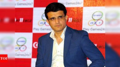 Players were on leave, wearing mask not possible all the time: Sourav Ganguly   Cricket News - Times of India