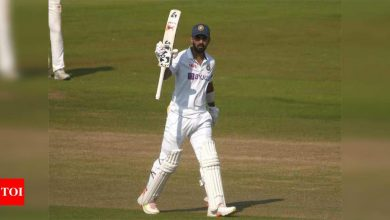 Practice Match: KL Rahul 'warms up' with fine hundred but top-order fails to utilise game time | Cricket News - Times of India