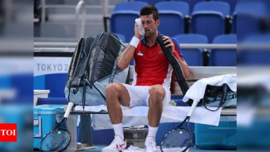 'Pressure is privilege' for history-chasing Novak Djokovic | Tokyo Olympics News - Times of India