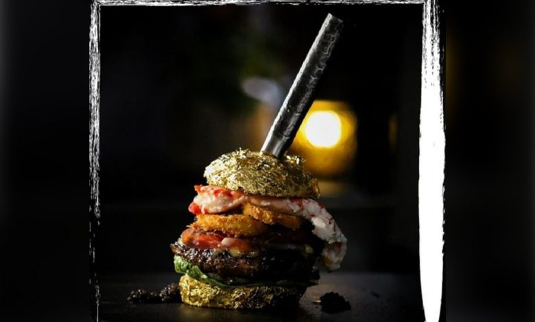 Pricey patty: World's most expensive burger sells for $5,964