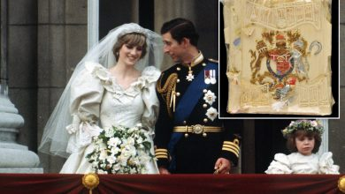 Prince Charles and Princess Diana's wedding cake to go up for auction