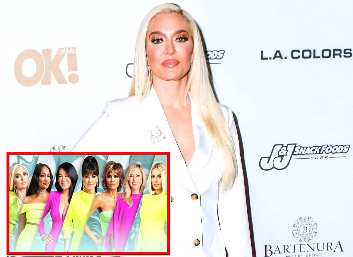 """RHOBH Cast Reacts to Erika Jayne's """"Strange"""" Story About Tom Girardi's Accident as Kyle Shares What """"Surprised"""" Her About Tom's Cheating, Plus Their First Impressions"""