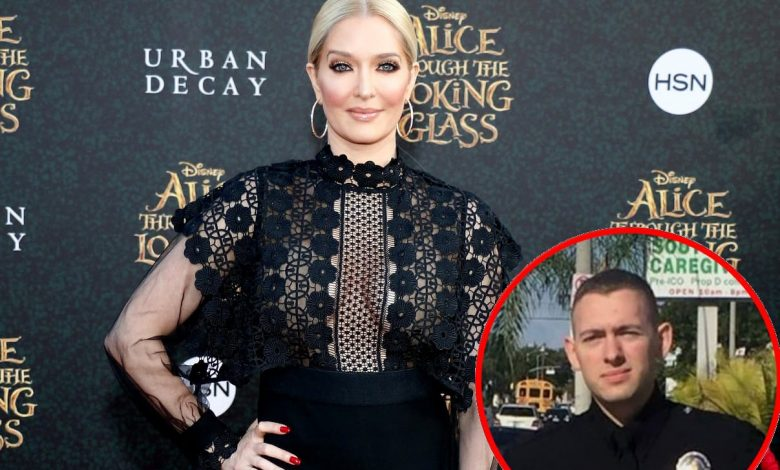 """RHOBH: Erika Jayne Defends Police Officer Son Tommy Zizzo Against Troll Who Labels Him a """"P-ssy,"""" Slams Lawyers Commenting About Legal Drama Online"""