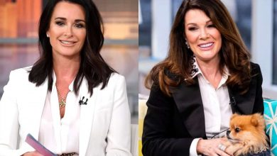 """RHOBH's Kyle Richards Tells Lisa Vanderpump to """"Give It a Rest"""" After She Responds to Rumor Accusing Kyle of Trading Stories for Negative Tweets About LVP"""