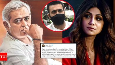 Raj Kundra case live updates: Richa Chadha comes out in support of Shilpa Shetty  - The Times of India