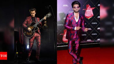 Ranveer Singh VS Harry Styles: Who wore it better? - Times of India