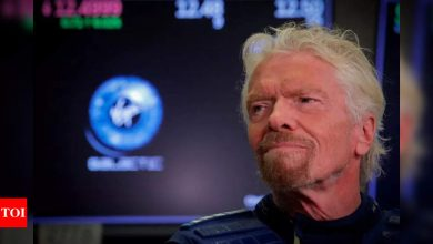 Richard Branson announces trip to space, ahead of Jeff Bezos - Times of India