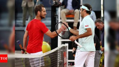 Richard Gasquet relishing Wimbledon date with 'classic' Roger Federer   Tennis News - Times of India