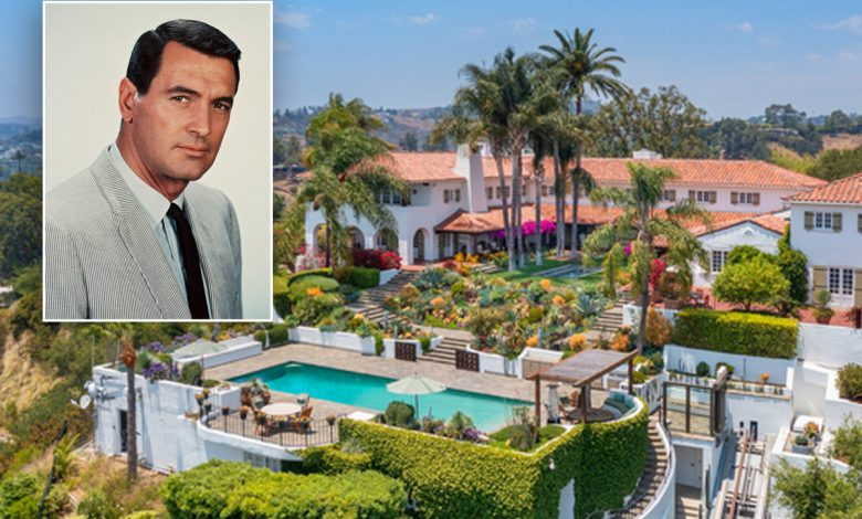 Rock Hudson estate listed for the first time in decades for $55.5M