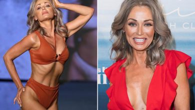 SI Swimsuit's oldest model Kathy Jacobs, 57, isn't intimidated by younger gals