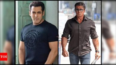 Salman Khan pens a sweet birthday note for Sylvester Stallone; says 'keep punching' - Times of India