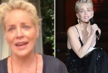 Sharon Stone threatened with job loss after vaccine demands 'I'm standing up for us all!'