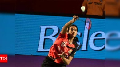 Sindhu to open Olympic campaign against Polikarpova Ksenia of Israel | Tokyo Olympics News - Times of India
