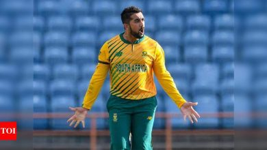 Sometimes it just feels like we are caged circus animals: Tabraiz Shamsi on bubble life   Cricket News - Times of India