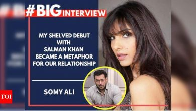 Somy Ali: My shelved debut with Salman Khan became a metaphor for our relationship - Times of India
