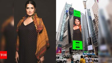 Sona Mohapatra on her Times Square Billboard debut: This is a validation of my constant hustle - Times of India