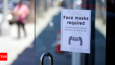 St. Louis becomes first to reinstate masks in US - Times of India