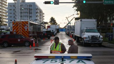 Surfside Collapse Death Toll at 18 as President Biden Arrives in South Florida