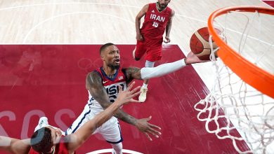 Team USA blows out Iran in bounce-back win after opening dud