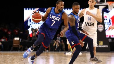Team USA quiets pre-Olympic panic with rout of Argentina